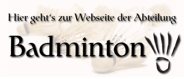 Badminton Homepage